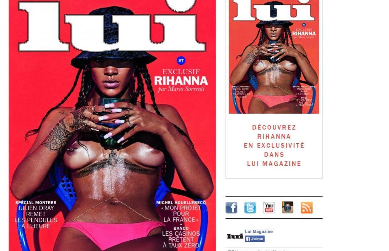Rihanne nue : toutes les photos de Rihanna nue - doctissimofr