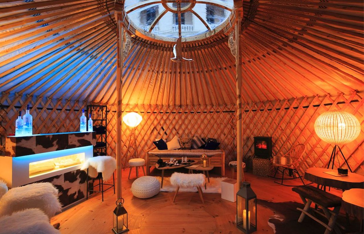 Image result for intercontinental marseille yurt