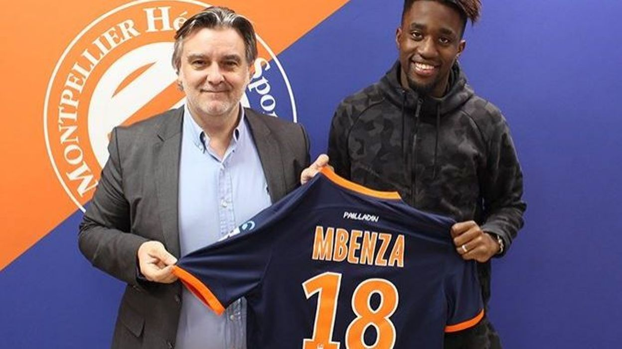 Isaac Mbenza à Montpellier