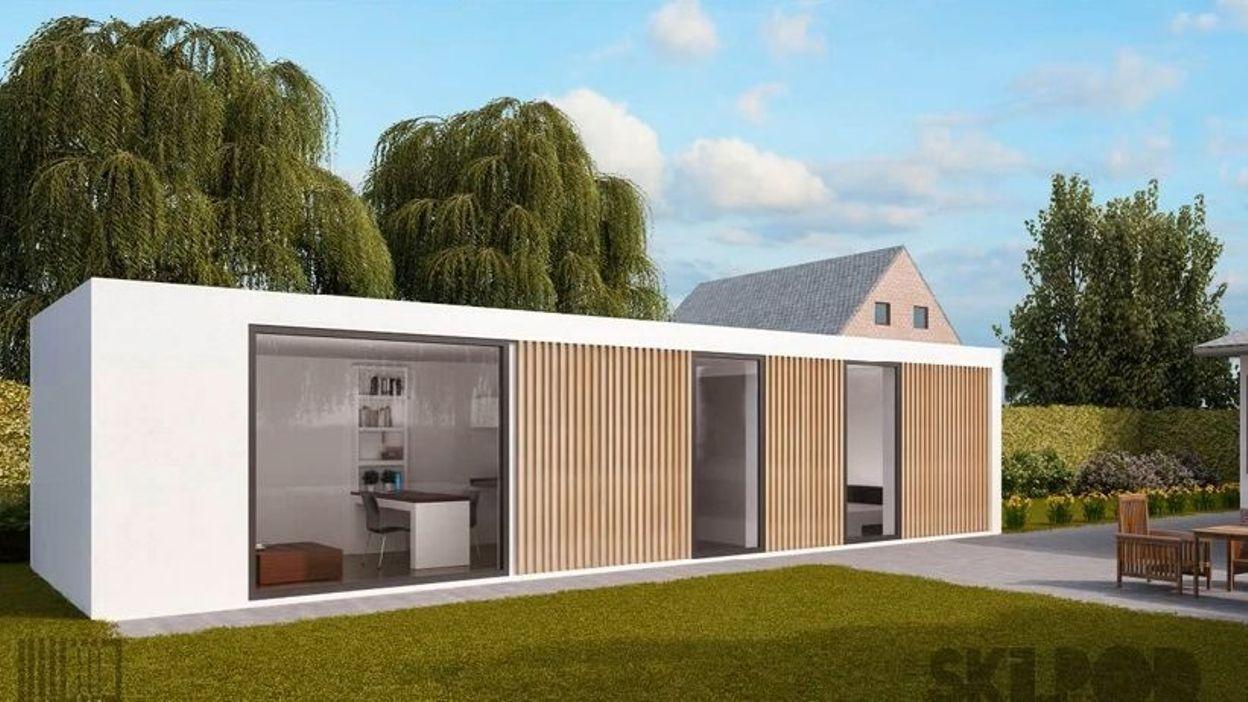 pourquoi ne pas loger les personnes g es dans un pr fabriqu au jardin. Black Bedroom Furniture Sets. Home Design Ideas