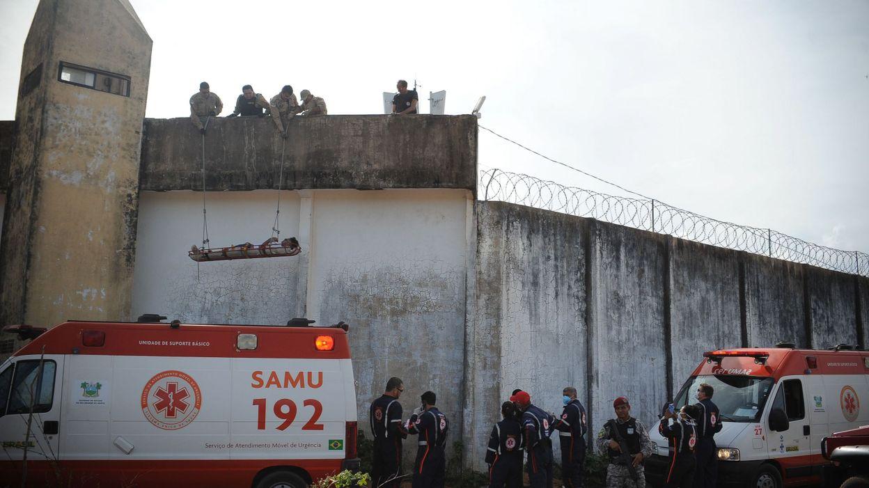 Brésil: l'armée investit Natal au 7e jour d'affrontements entre gangs dans la prison