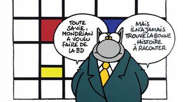 Le Chat s'expose à Paris.