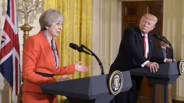 Theresa May a rencontré Donald Trump