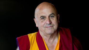 Le Français Matthieu Ricard, moine bouddhiste tibétain.