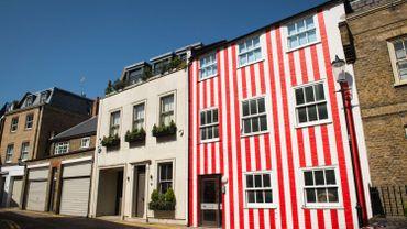 Londres elle repeint la fa ade de sa maison pour se venger du voisinage - Quartier chic de londres ...