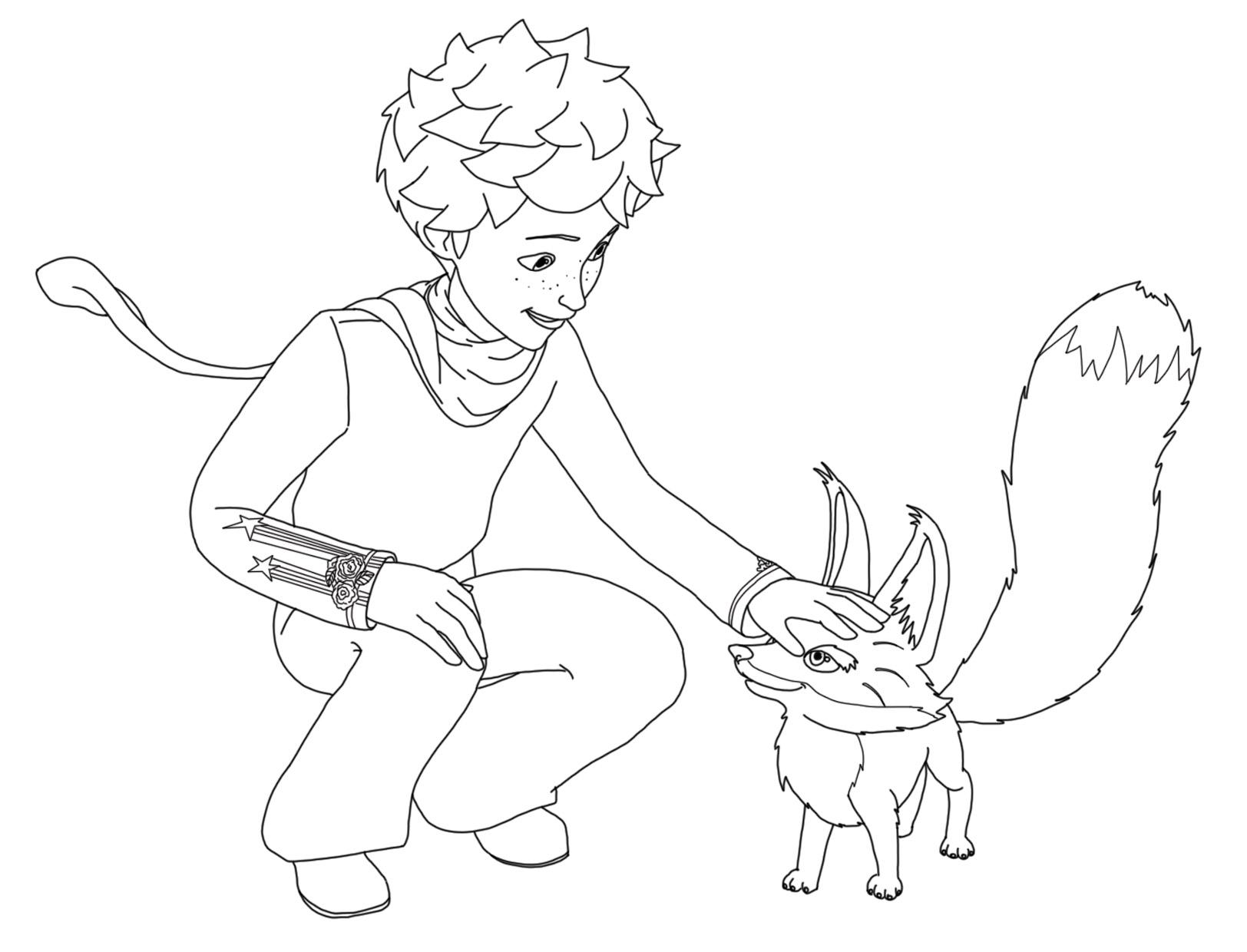 Desenhos Para Colorir Principe: Le Petit Prince