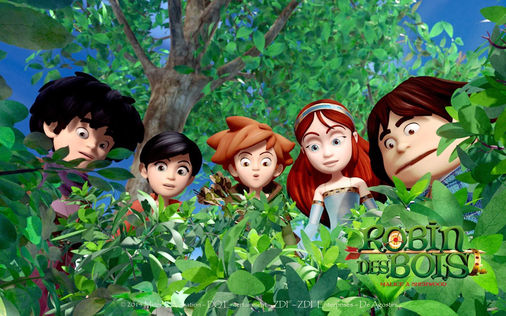 Robin des bois Fond d'écran Sherwood OUFtivi # La Soissonnaise Des Bois